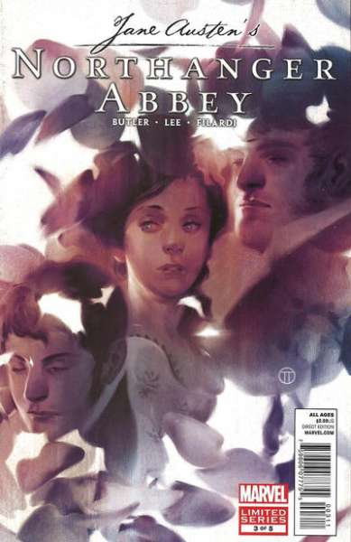 Northanger Abbey #3 comic books - cover scans photos Northanger Abbey #3 comic books - covers, picture gallery