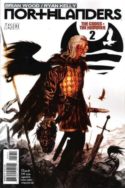 Northlanders #12 comic books - cover scans photos Northlanders #12 comic books - covers, picture gallery