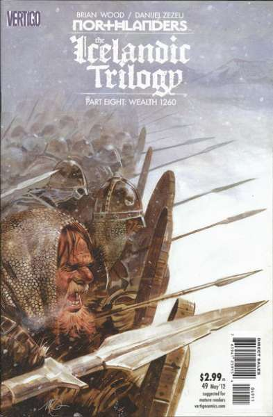 Northlanders #49 comic books for sale