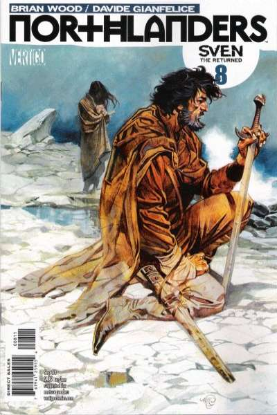 Northlanders #8 Comic Books - Covers, Scans, Photos  in Northlanders Comic Books - Covers, Scans, Gallery