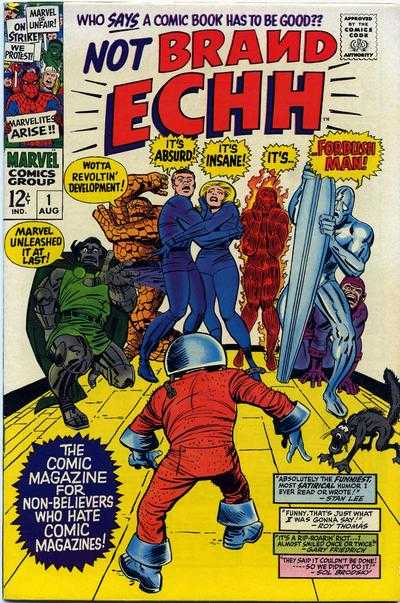 Not Brand Echh comic books