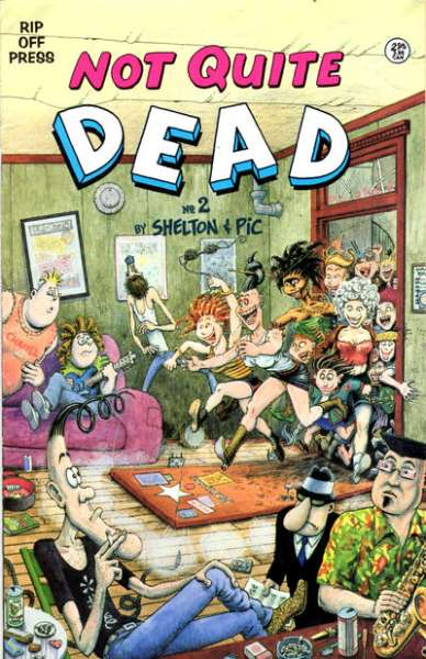 Not Quite Dead #2 comic books - cover scans photos Not Quite Dead #2 comic books - covers, picture gallery