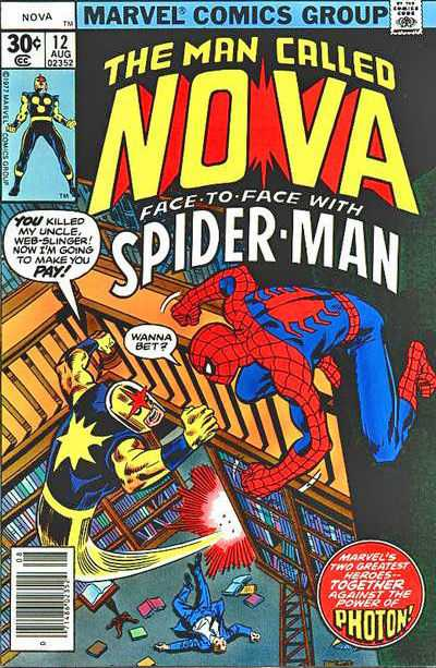 Nova #12 Comic Books - Covers, Scans, Photos  in Nova Comic Books - Covers, Scans, Gallery