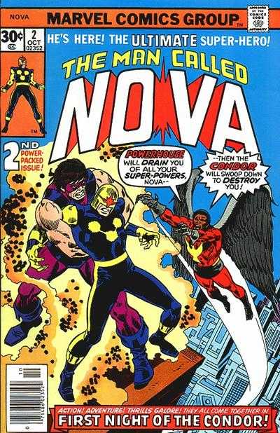 Nova #2 Comic Books - Covers, Scans, Photos  in Nova Comic Books - Covers, Scans, Gallery