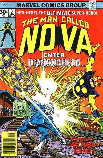 Nova #3 comic books - cover scans photos Nova #3 comic books - covers, picture gallery