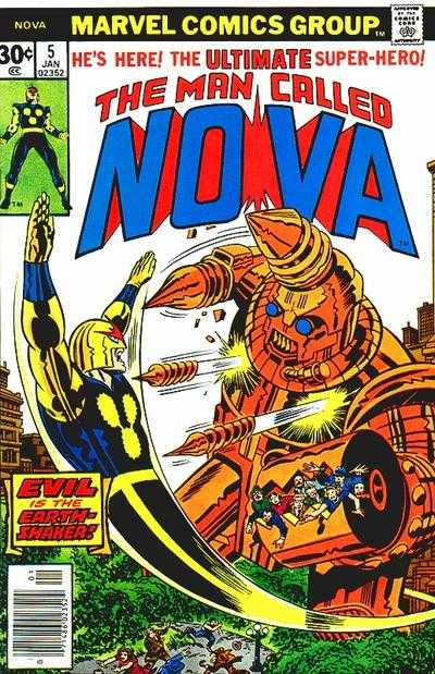 Nova #5 Comic Books - Covers, Scans, Photos  in Nova Comic Books - Covers, Scans, Gallery