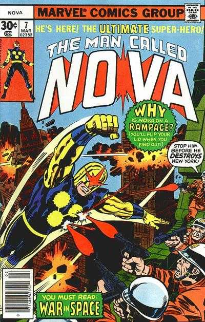 Nova #7 comic books - cover scans photos Nova #7 comic books - covers, picture gallery