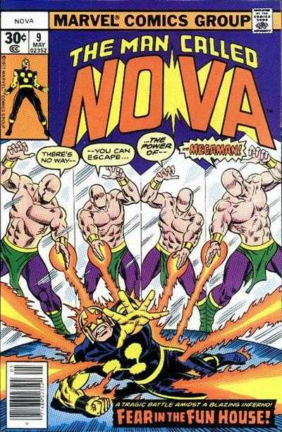 Nova #9 comic books - cover scans photos Nova #9 comic books - covers, picture gallery