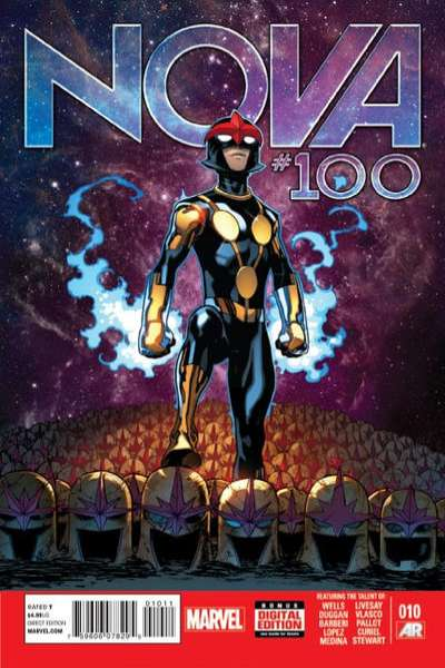 Nova #10 comic books - cover scans photos Nova #10 comic books - covers, picture gallery