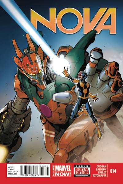 Nova #14 comic books for sale