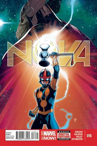 Nova #16 Comic Books - Covers, Scans, Photos  in Nova Comic Books - Covers, Scans, Gallery