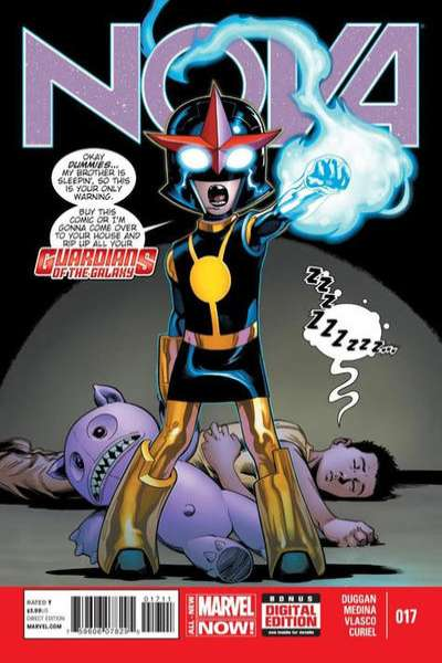 Nova #17 Comic Books - Covers, Scans, Photos  in Nova Comic Books - Covers, Scans, Gallery