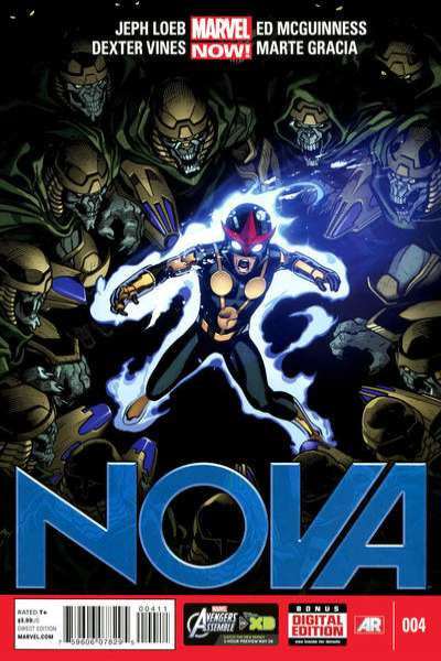 Nova #4 Comic Books - Covers, Scans, Photos  in Nova Comic Books - Covers, Scans, Gallery