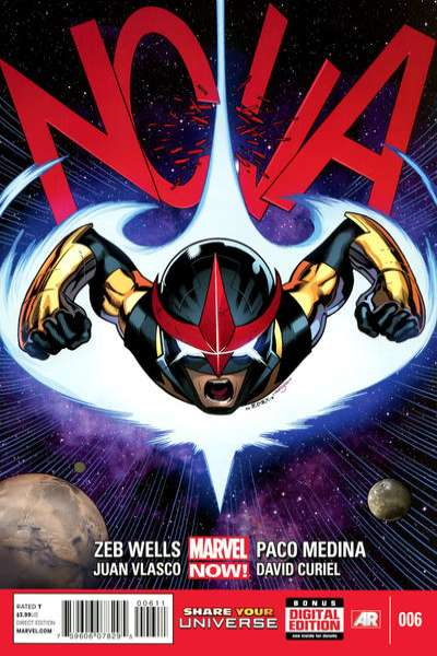 Nova #6 Comic Books - Covers, Scans, Photos  in Nova Comic Books - Covers, Scans, Gallery