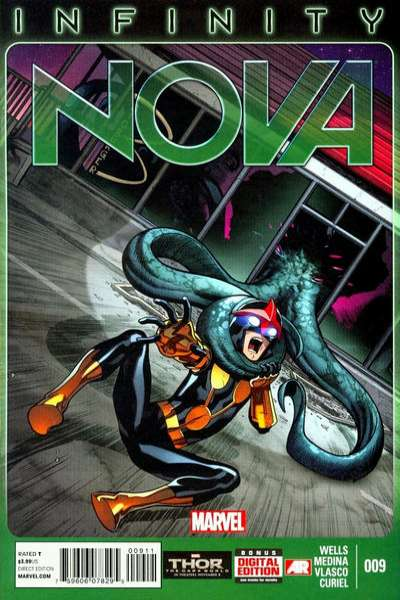 Nova #9 Comic Books - Covers, Scans, Photos  in Nova Comic Books - Covers, Scans, Gallery