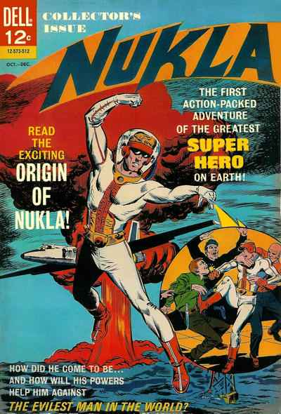 Nukla comic books