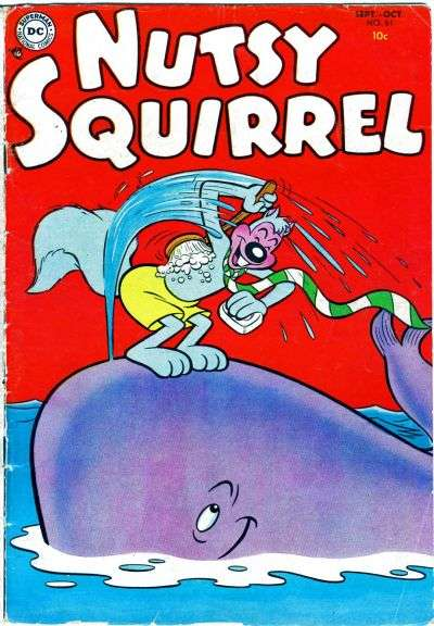 Nutsy Squirrel Comic Books. Nutsy Squirrel Comics.