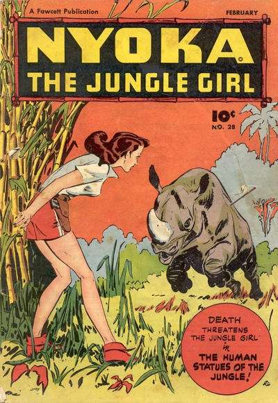 Nyoka: The Jungle Girl #28 comic books for sale