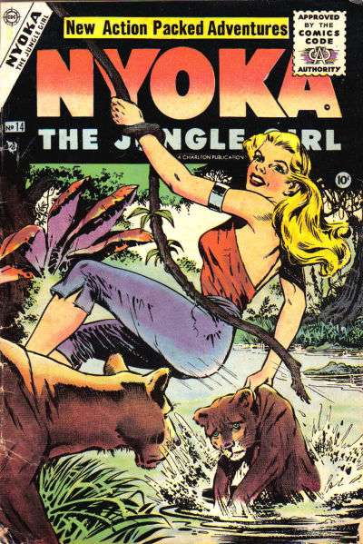 Nyoka: The Jungle Girl Comic Books. Nyoka: The Jungle Girl Comics.