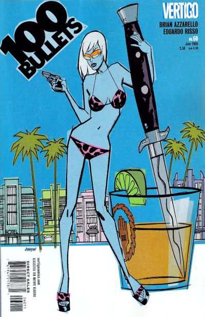 100 Bullets #60 comic books for sale