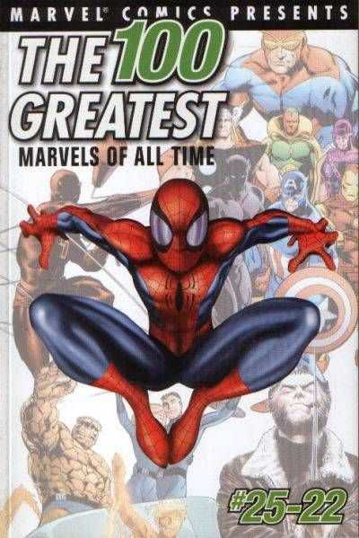 100 Greatest Marvels of All Time comic books