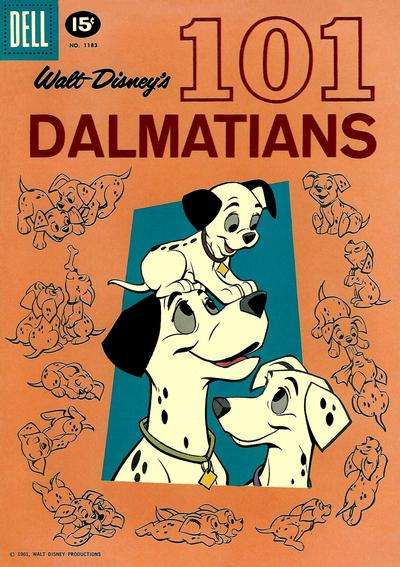 101 Dalmations #1 comic books for sale