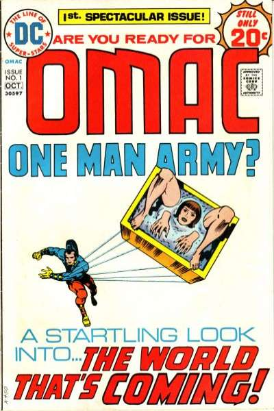 OMAC Comic Books. OMAC Comics.