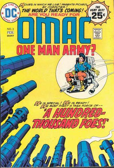 OMAC #3 Comic Books - Covers, Scans, Photos  in OMAC Comic Books - Covers, Scans, Gallery