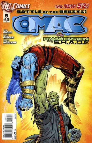 OMAC #5 comic books for sale