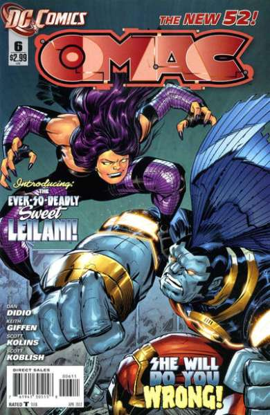 OMAC #6 Comic Books - Covers, Scans, Photos  in OMAC Comic Books - Covers, Scans, Gallery