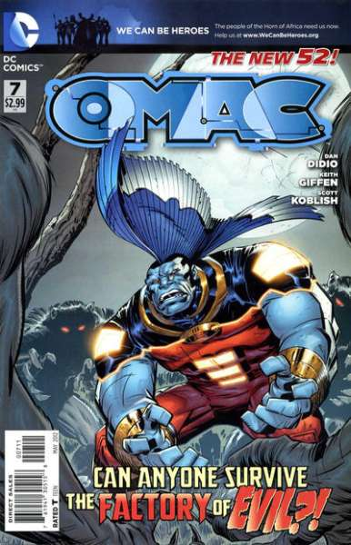 OMAC #7 Comic Books - Covers, Scans, Photos  in OMAC Comic Books - Covers, Scans, Gallery