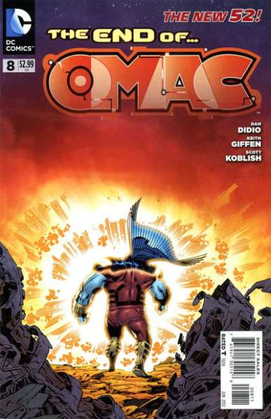 OMAC #8 Comic Books - Covers, Scans, Photos  in OMAC Comic Books - Covers, Scans, Gallery
