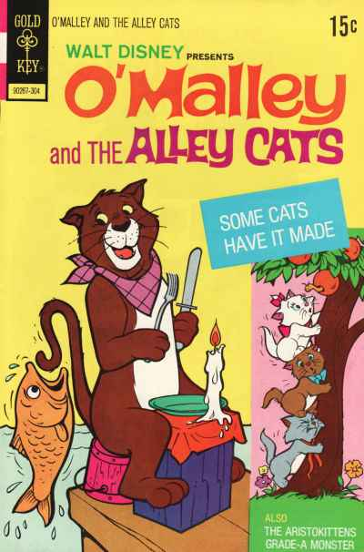 O'Malley and the Alley Cats #6 comic books - cover scans photos O'Malley and the Alley Cats #6 comic books - covers, picture gallery