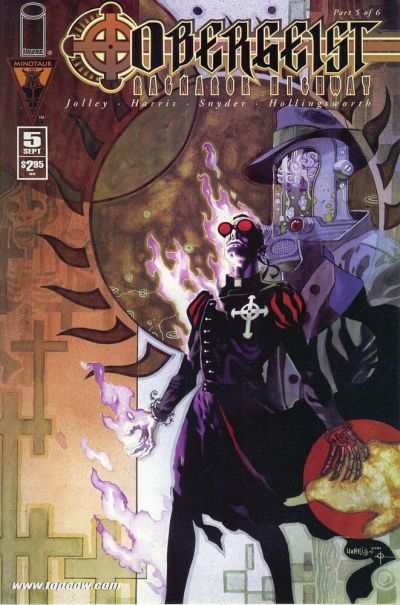 Obergeist: Ragnarok Highway #5 comic books for sale