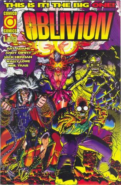 Oblivion #1 Comic Books - Covers, Scans, Photos  in Oblivion Comic Books - Covers, Scans, Gallery