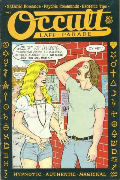 Occult Laff Parade #1 comic books - cover scans photos Occult Laff Parade #1 comic books - covers, picture gallery