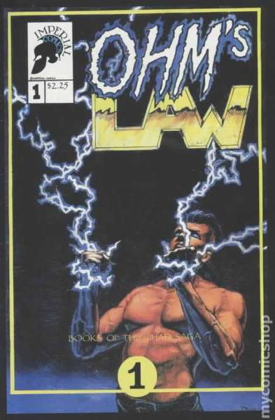 Ohm's Law #1 comic books - cover scans photos Ohm's Law #1 comic books - covers, picture gallery