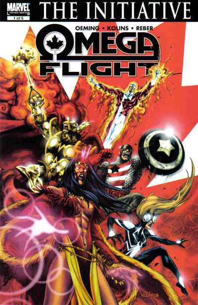 Omega Flight #1 Comic Books - Covers, Scans, Photos  in Omega Flight Comic Books - Covers, Scans, Gallery
