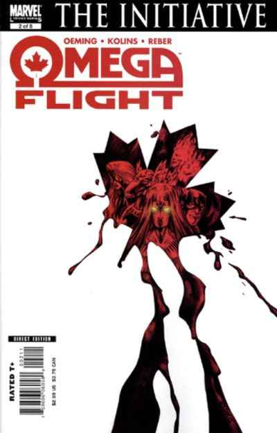 Omega Flight #2 Comic Books - Covers, Scans, Photos  in Omega Flight Comic Books - Covers, Scans, Gallery