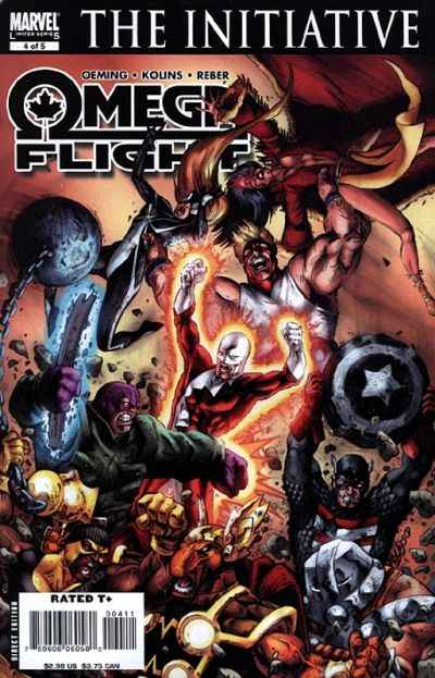 Omega Flight #4 Comic Books - Covers, Scans, Photos  in Omega Flight Comic Books - Covers, Scans, Gallery