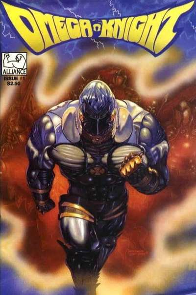 Omega Knight #1 comic books - cover scans photos Omega Knight #1 comic books - covers, picture gallery