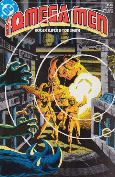 Omega Men #10 comic books for sale