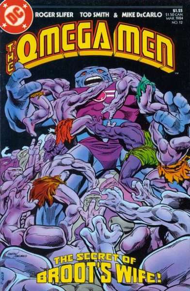 Omega Men #12 Comic Books - Covers, Scans, Photos  in Omega Men Comic Books - Covers, Scans, Gallery