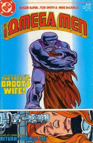 Omega Men #13 Comic Books - Covers, Scans, Photos  in Omega Men Comic Books - Covers, Scans, Gallery