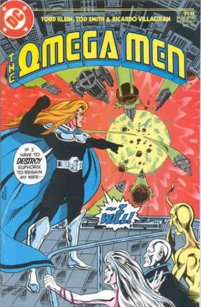 Omega Men #15 Comic Books - Covers, Scans, Photos  in Omega Men Comic Books - Covers, Scans, Gallery