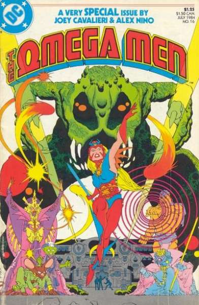 Omega Men #16 comic books for sale