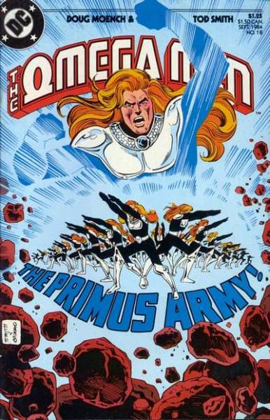 Omega Men #18 Comic Books - Covers, Scans, Photos  in Omega Men Comic Books - Covers, Scans, Gallery