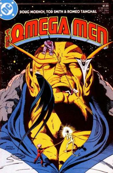 Omega Men #19 Comic Books - Covers, Scans, Photos  in Omega Men Comic Books - Covers, Scans, Gallery