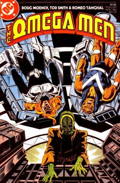 Omega Men #20 Comic Books - Covers, Scans, Photos  in Omega Men Comic Books - Covers, Scans, Gallery