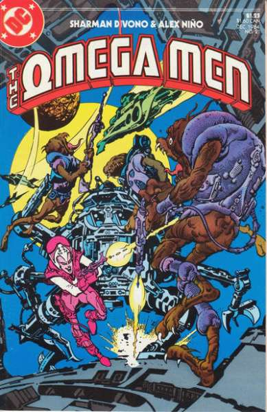 Omega Men #21 comic books for sale